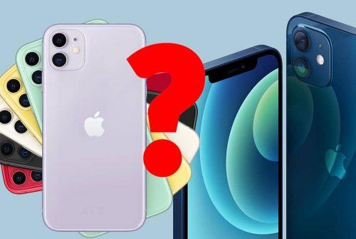 Quelle est la différence entre l'iPhone 11 et l'iPhone 12 ?