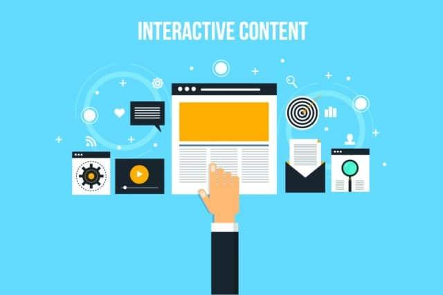 Qu'est-ce qu'un contenu interactif?